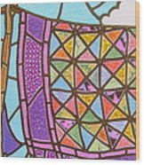Quilts Online Wood Print
