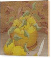 Quinces   2006 Wood Print