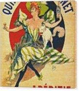Quinquina Dubonnet Aperitif 1895 Wood Print