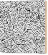 Quintessence Wood Print