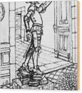 Quixote Museum Wood Print