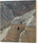 Qumran Cave Wood Print