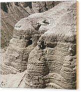 Qumran: Dead Seal Scrolls Wood Print