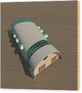 Quonset Twenty Ten Wood Print
