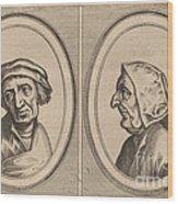 """""""goelijeke Floor"""" And """"kinne Snavels"""" Wood Print"""