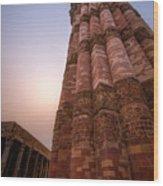 Qutab Minar Wood Print