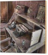 Qwerty Wood Print