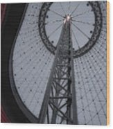 R F P Pavilion Support Ring - Spokane Washington Wood Print by Daniel Hagerman