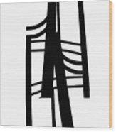 R1p-8 Wood Print