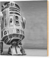 R2 Feeling Lonely Wood Print