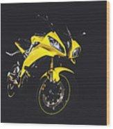 R6 Wood Print