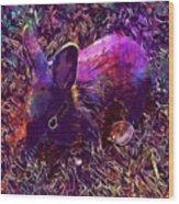 Rabbit Animal Baby Rabbit Bunny  Wood Print