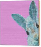 Rabbit Eyes Wood Print