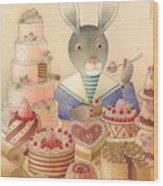 Rabbit Marcus The Great 01 Wood Print