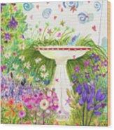 Rabbitland Wood Print