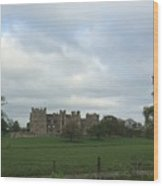 Raby Castle Wood Print