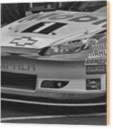Race Car Front Wood Print
