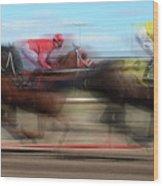 Racetrack Dreams  Wood Print