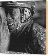 Racetrack Heroes 4 Wood Print