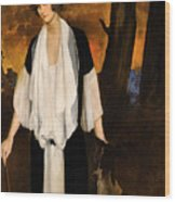 Rachel Strong By Leon Bakst 1924 Wood Print