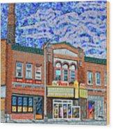 Racine, Wisconsin Wood Print