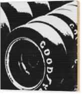 Racing Rubber Wood Print