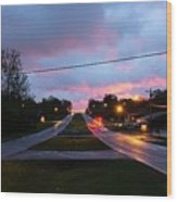 Radcliff Kentucky Morning Wood Print