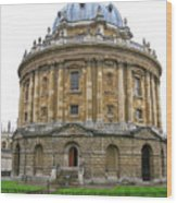 Radcliffe Camera Wood Print