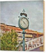 Radford Virginia - Time For A Visit Wood Print