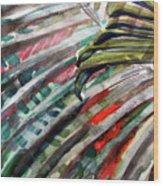 Radiant Palms Wood Print