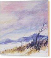 Radiant Sky Wood Print
