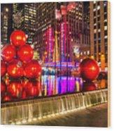 Radio City Music Hall - New York City Usa Wood Print
