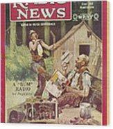 Radio News, 1926 Wood Print