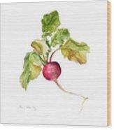 Radish Wood Print