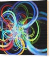 Radius Rainbow Wood Print