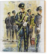 Raf Military Parade In York Wood Print