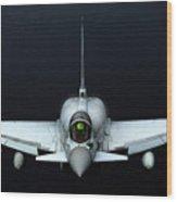 Raf Typhoon Inflight Wood Print