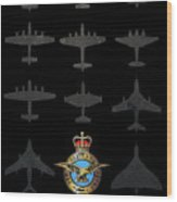 Raf100 - The Bombers Wood Print