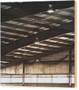 Rafters Wood Print