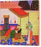 Ragamala Painting Wood Print