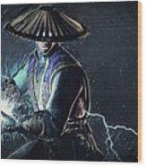 Raiden - Mortal Kombat Wood Print