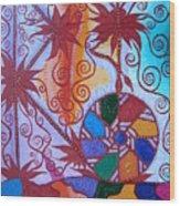 Raido, Rhytm , Dance Wood Print