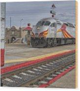 Rail Runner Train Albuquerque Nm Sc02985 Wood Print