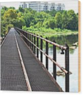 Rail To Richmond Wood Print