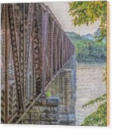 Railroad Bridge14 Wood Print