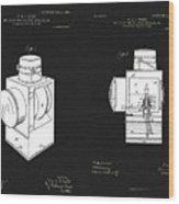 Railroad Lantern Plans Wood Print