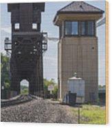 Railroad Lift Bridge2 A Wood Print