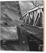 Railroad Trestle Wood Print