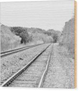 Rails 004 Wood Print