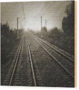 Rails Wood Print